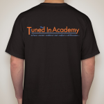 t shirt front and back