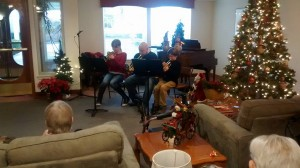 Trumpet Lab presents for the residents at The Colonial Inn.
